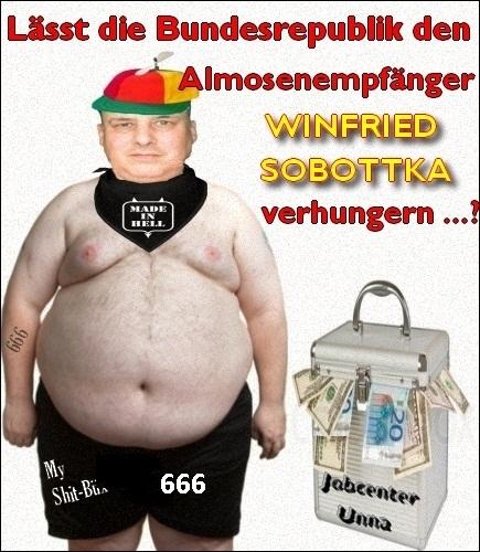 die dümmsten sprüche Unitedanarchists und die dümmsten Sprüche von Winfried Sobottka  die dümmsten sprüche