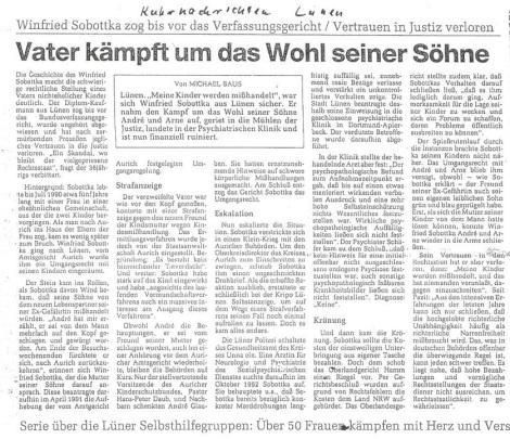 Ruhrnachrichten 1995a