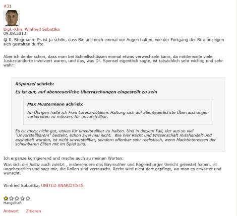 Blog.Beck.de 2013 08.09.-2