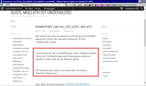 Gustl Mollath ist unschuldig-a