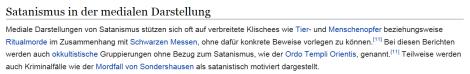 Satanismus