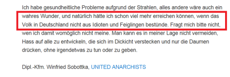Wahnfried hasst die Deutschen